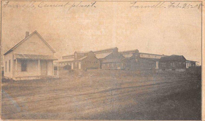 Postcard of the Portland Cement Company