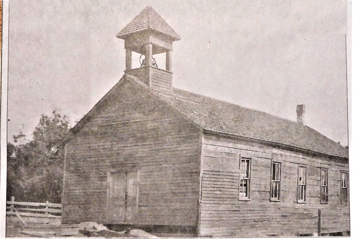 Original Skeels Church built by First Freewill Baptist Church of Sherman Township.