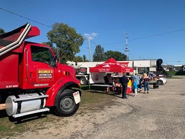 Over 72 smoke detectors were handed out to attendees of the Touch-A-Truck Fire Safety Week event organized by Dan Durga State Farm