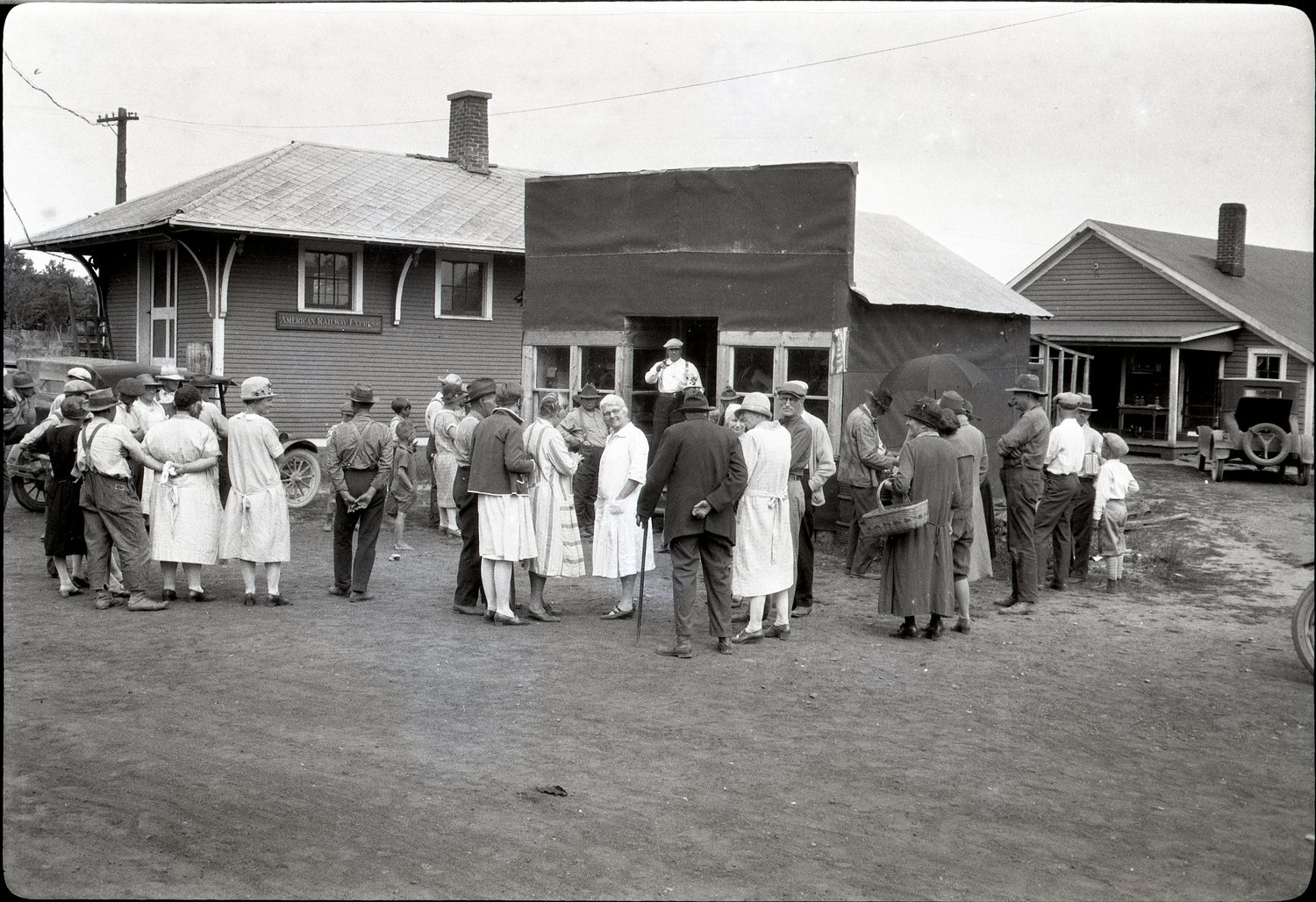 Auction in Lake George 1927