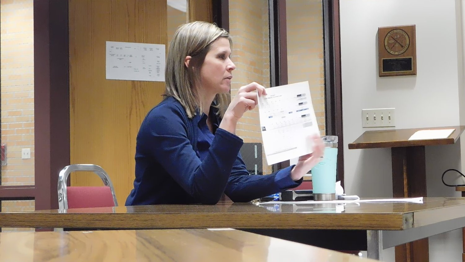 Clare County Treasurer Jenny Beemer-Fritzinger breaks down the specifics of just how much trouble the county is in financially, and the no-exceptions rigor with which the board will have to approach spending in the coming year.