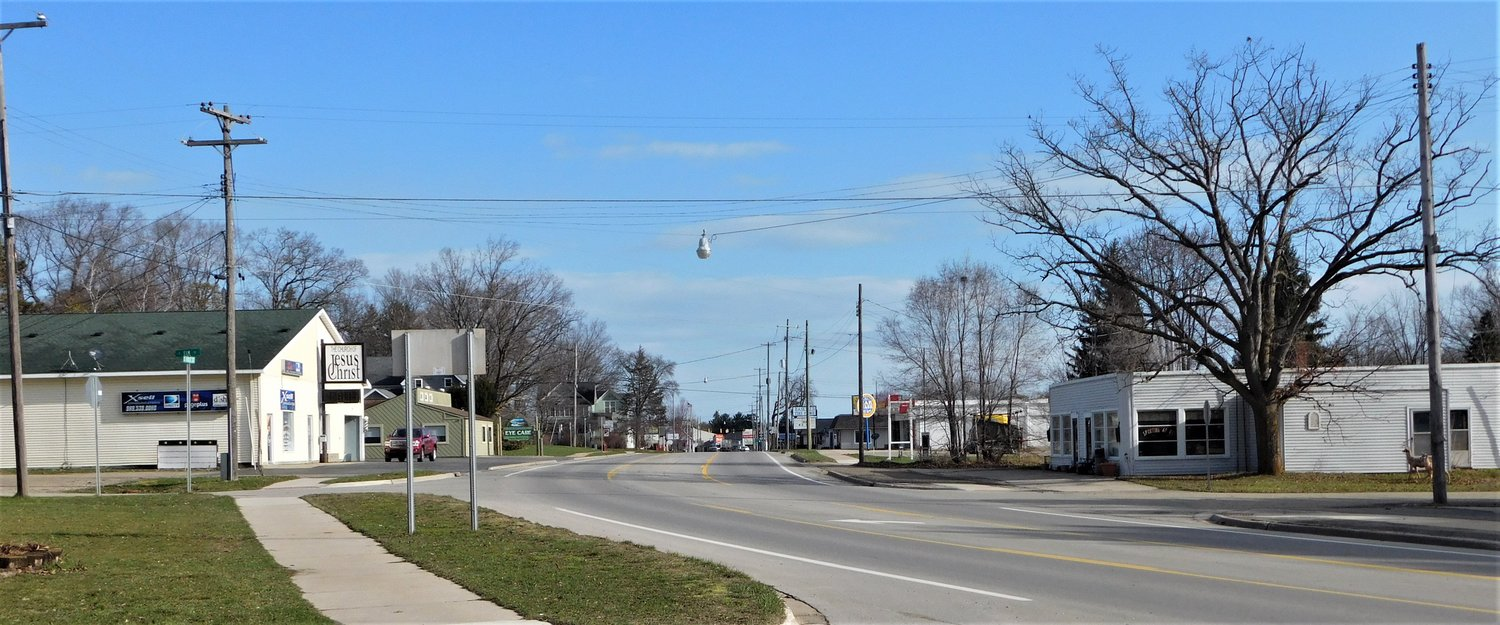 These photos of the streets of Harrison taken Thursday, April 8 illustrate the community's commitment to abiding by the executive order issued by Gov. Gretchen Whitmer which calls for a virtually total shutdown of non-essential travel or commerce in the state.