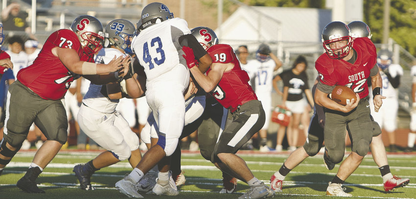 Ty Welliever led the way for Southmont with 146 yards on the ground. The Mounties totaled 307 rushing yards as a team.