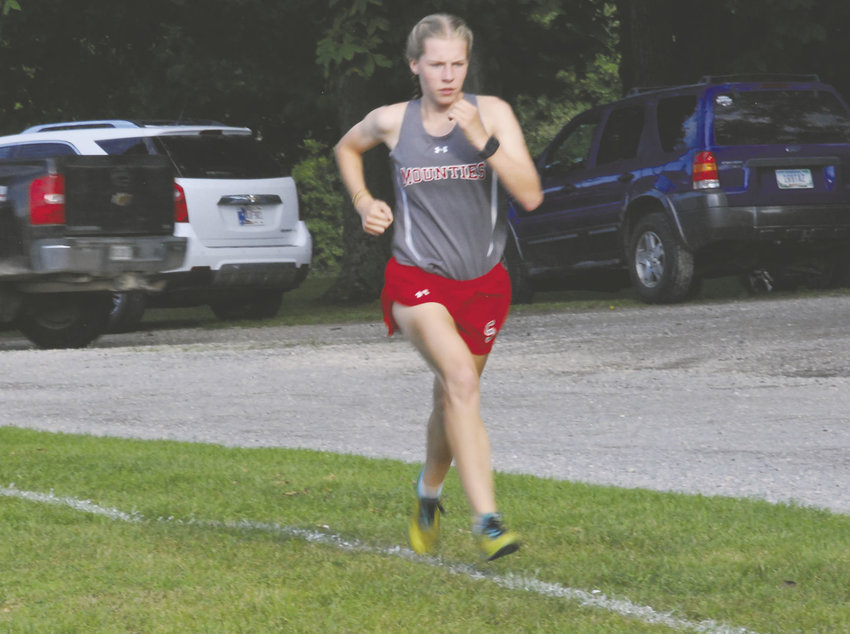 Southmont freshman Faith Allen proved herself as one of the top runners at Seeger's Hokum Karem on Thursday.