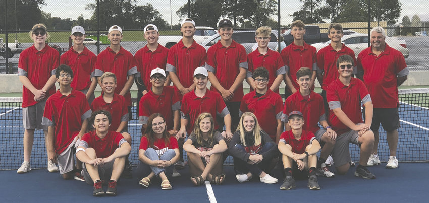 Southmont claimed the county title in boy's tennis with a 5-0 win over North Montgomery on Tuesday.
