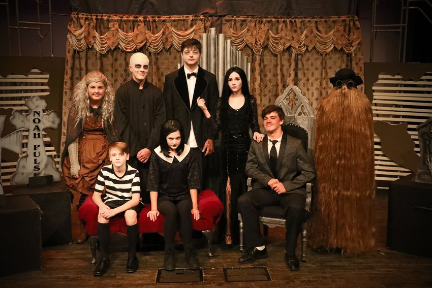 "The cast of Southmont Jr. High's production of ""The Addams Family"" will take the stage this weekend in the Southmont auditorium."