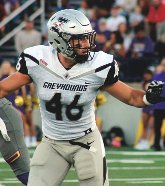 Former North Montgomery standout Alex Parsons is second on the team with 38 tackles and has 2.5 sacks for UIndy during his senior season.