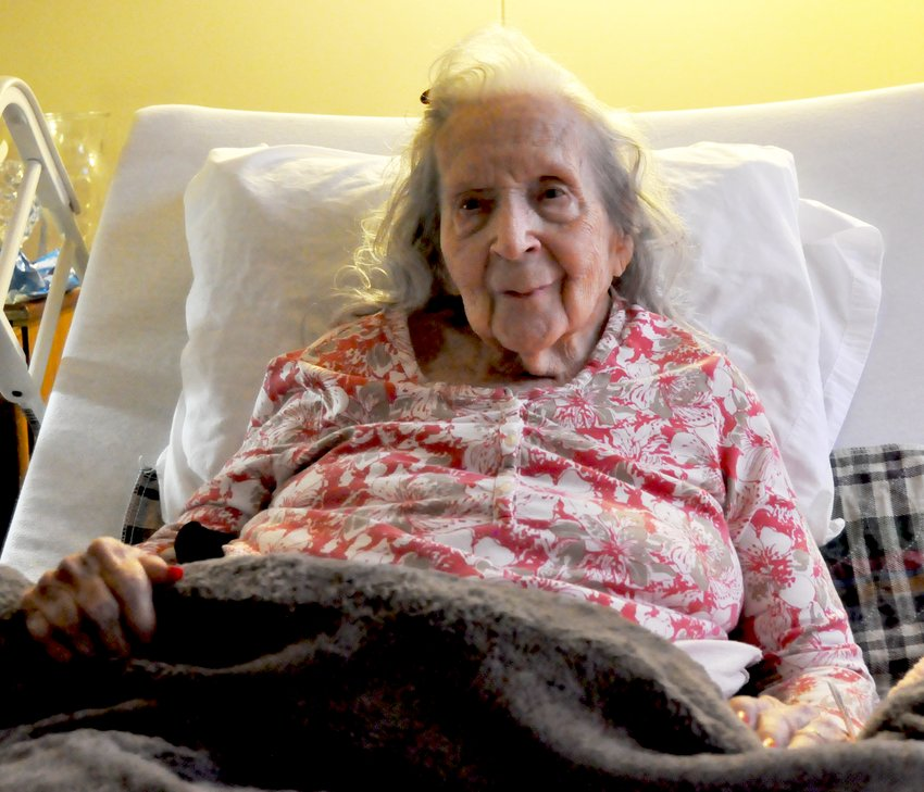 Helen Milligan, 103, has a birthday coming up on November 21. Milligan was reminiscing her life and telling stories from her past.