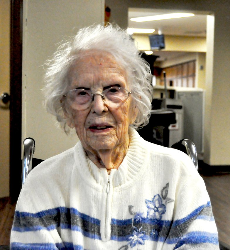 Sylvia Linn, 100, has a Birthday this Saturday. She is the middle child of 10, she is the only girl out of her 9 siblings. She talked about her life on the farm and growing up.