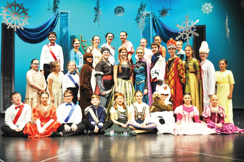 "Crawfordsville Middle School's ""Frozen Jr."" takes the stage this weekend at Crawfordsville High School."