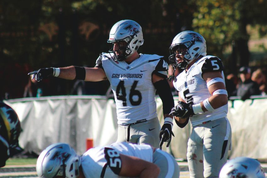 North Montgomery grad Alex Parsons now mans the UIndy defense as the Greyhounds middle linebacker in his senior season.