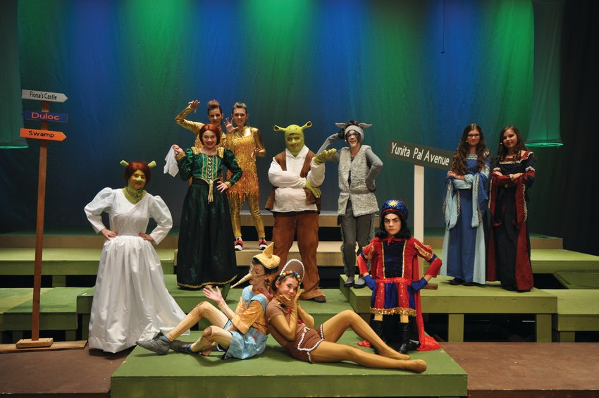 "The cast of Northridge Middle School's ""Shrek Jr."" will take to the stage Friday and Saturday at North Montgomery High School."