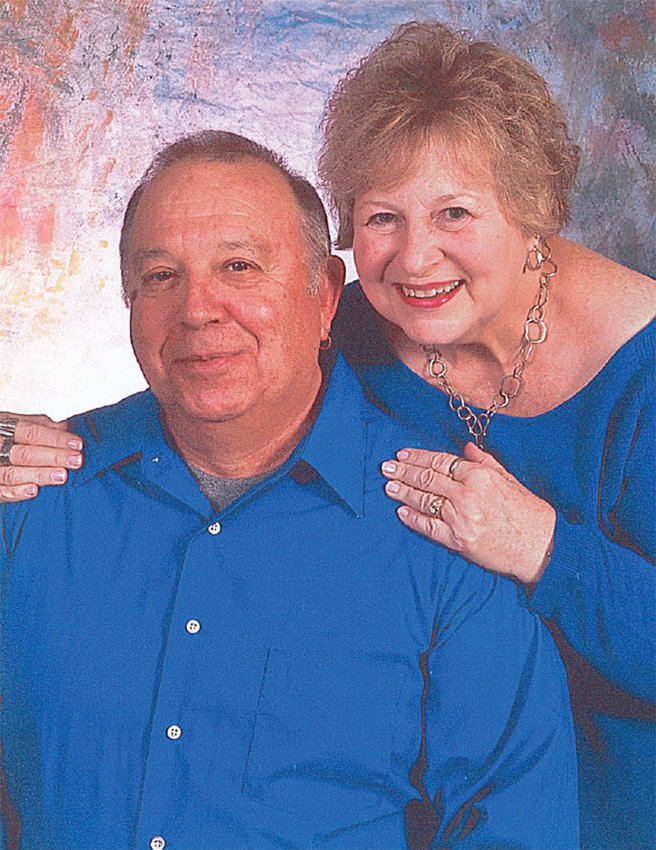 John and Peggy Rusk are celebrating their 50th wedding anniversary.