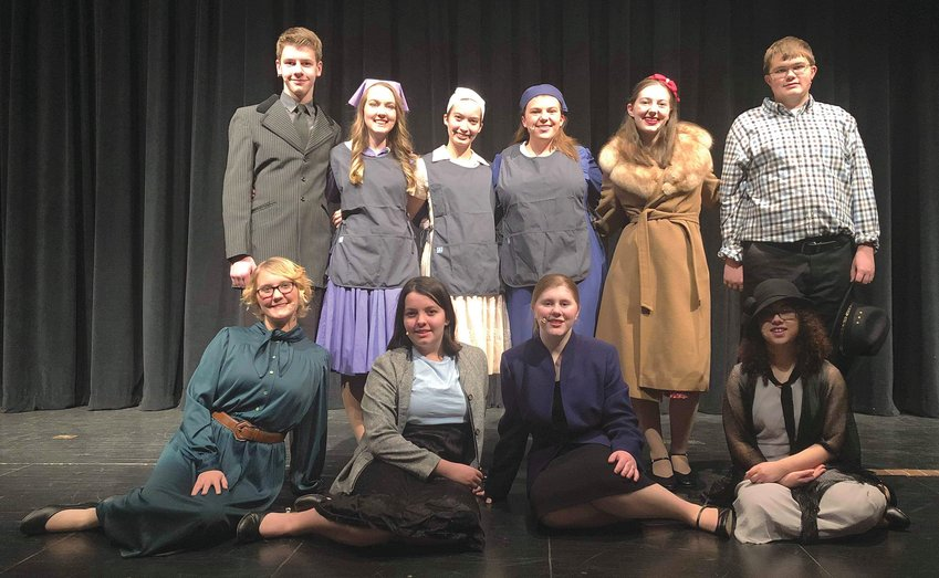 Crawfordsville High School students will perform Radium Girls at 7 p.m. today and Saturday in the high school auditorium.