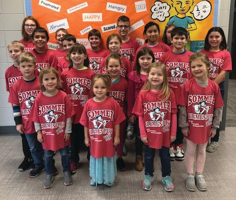 Sommer Elementary students were named Patriot Pass students in November for showing good character.