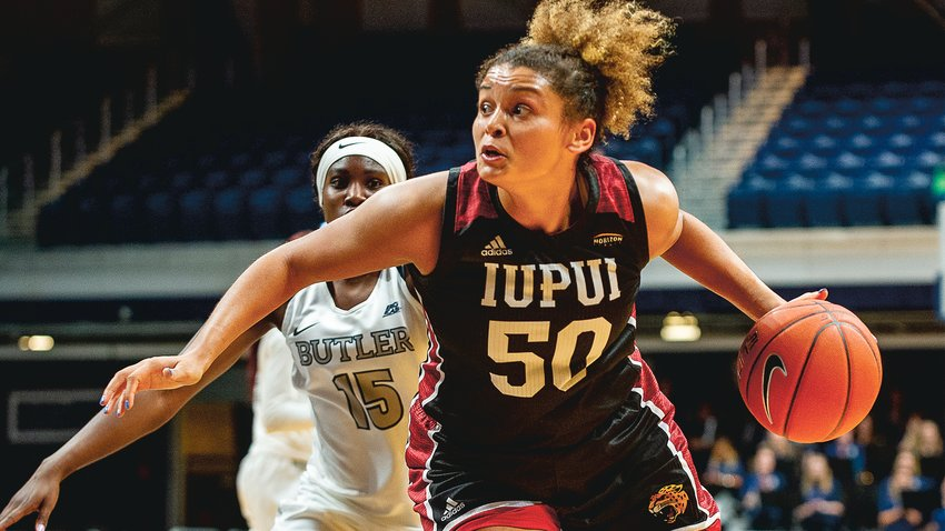 Macee Williams continues to lead IUPUI Women's basketball in scoring during her junior season with 13.8 points per game.