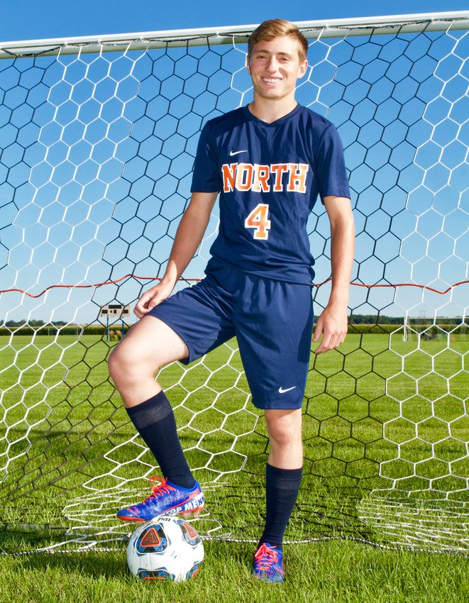 North Montgomery's Baydin Hall earns 2019 Journal Review Boys' Soccer Player of the Year