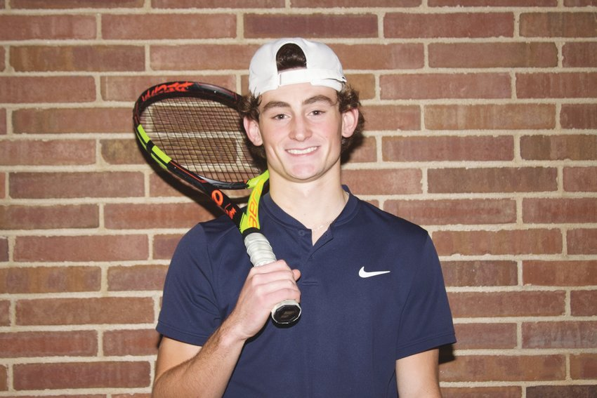Fountain Central's Carson Eberly posts 20-win season, earns 2019 Journal Review Boys' Tennis Player of the Year