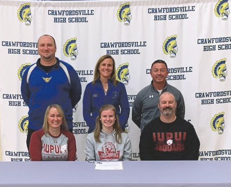Crawfordsville senior Madison Fry will continue her cross country and track and field careers at IUPUI in 2020.