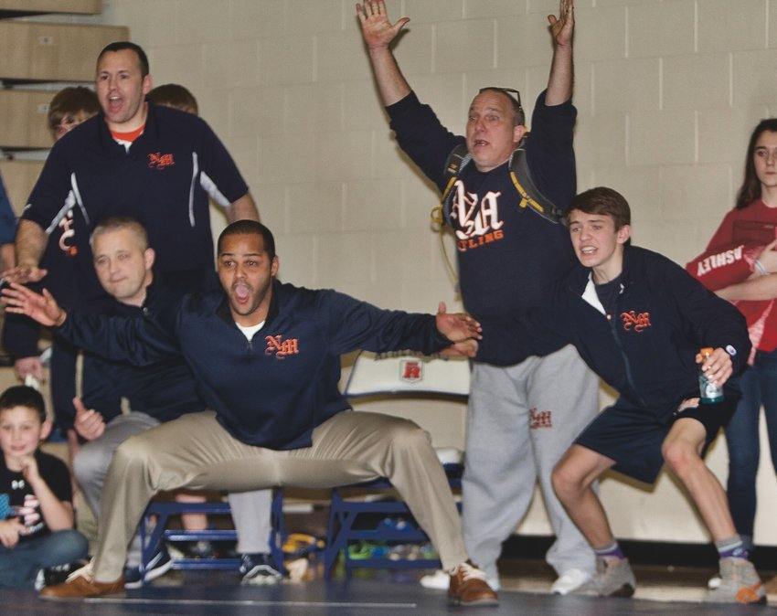 North Montgomery's Maurice Swain took over the Charger wrestling program in 2010 and turned it into one of the state's best.