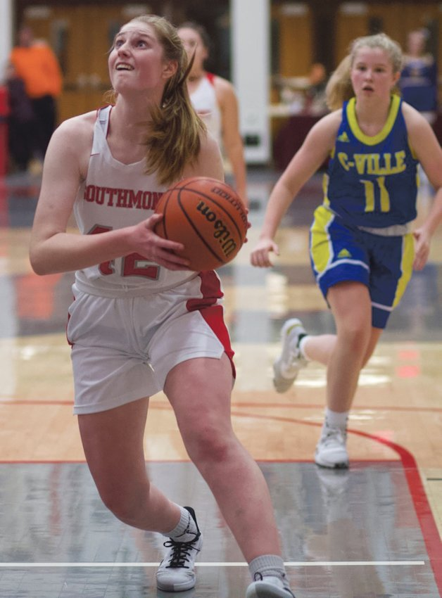 Southmont's Belle Miller led the Mounties with 13 points in a 49-44 win over Crawfordsville.