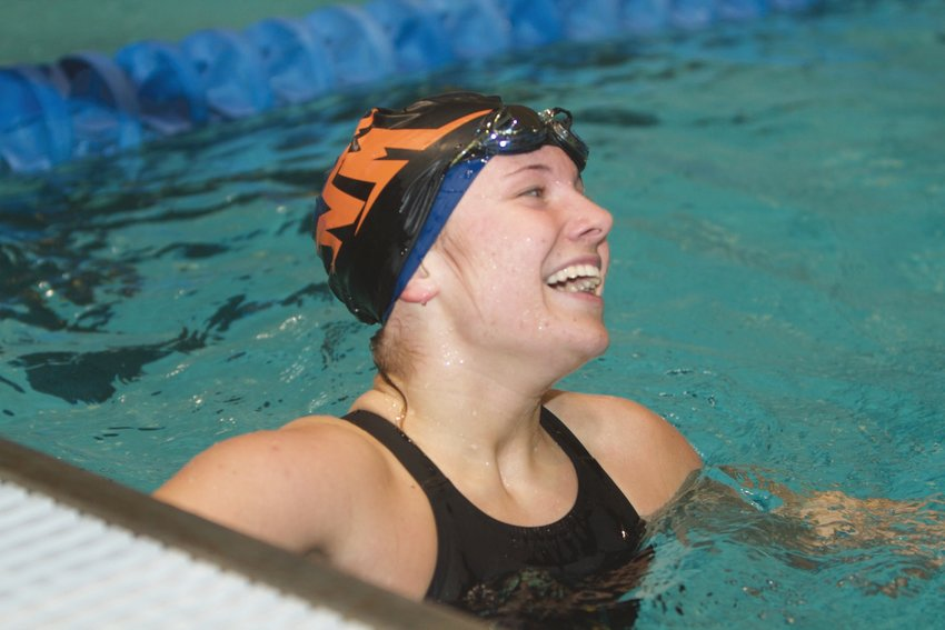 North Montgomery's Sidney Campbell hopes to repeat as a double-sectional winner this weekend.