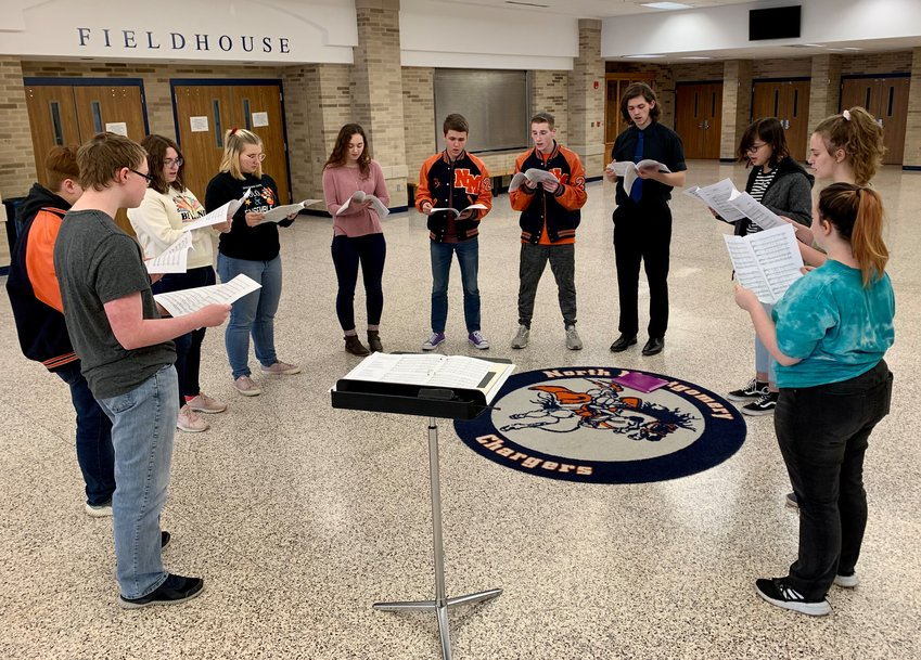North Montgomery High School choir members are preparing to perform in New York City on March 30 as a part of the Manhattan Concert Productions' Octavo Series at Carnegie Hall.