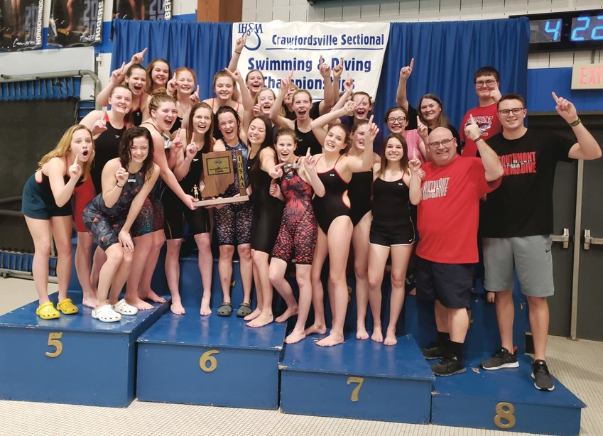 Southmont celebrates its first sectional title since 2001.