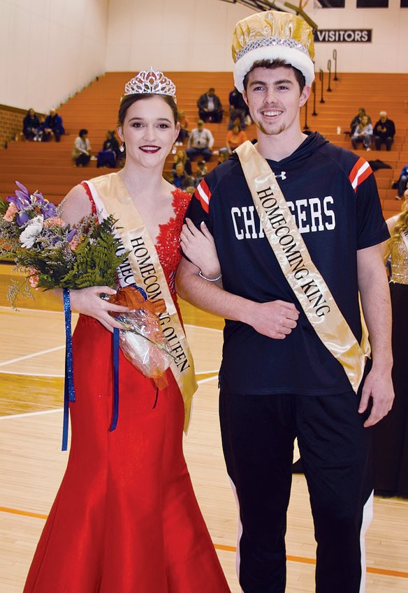 Ellen Laffoon and Alex Wallace were chosen as the 2020 North Montgomery Winter Homecoming Queen and King on Friday.