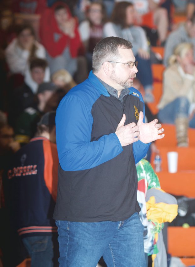 Crawfordsville wrestling coach Chris Ervin announced his retiring after 25 years at the helm of the Athenian program.