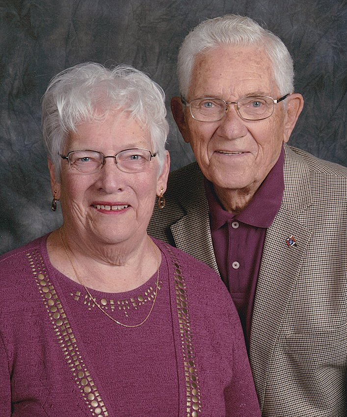 Nicholas and Josephine Shaw are celebrating their 60th wedding anniversary.