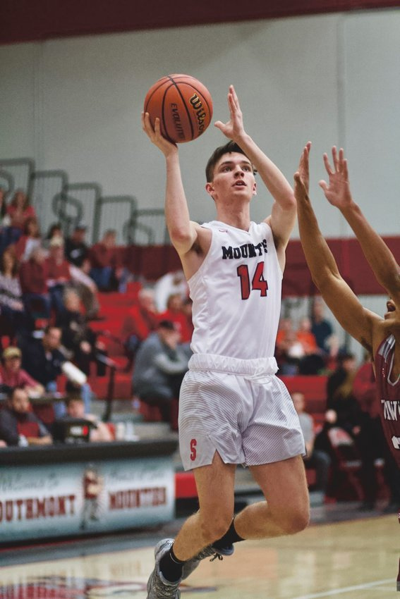 Southmont's Austin Bowman helped lead the Mounties to a county title, including an upset win over Crawfordsville.