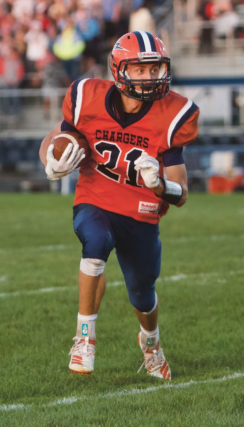 North Montgomery's Kade Kobel makes a move during a game last fall.