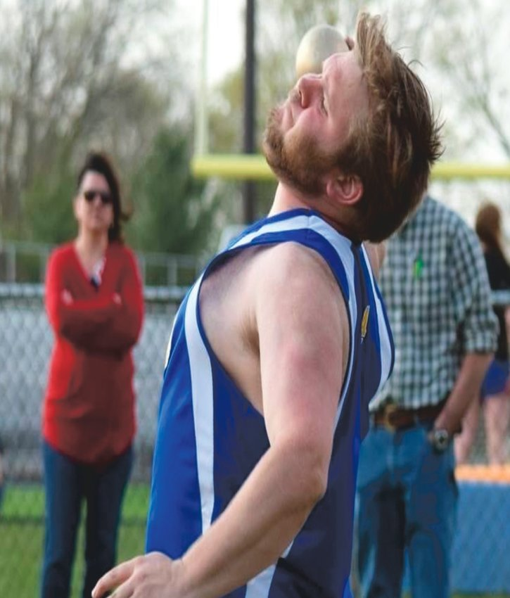 Crawfordsville's T.J. Daugherty is a senior thrower. He is the son of Jennifer Gerold and Timothy Daugherty. He plans to go to Ivy Tech and study Criminal Justice. He would love to become a police officer and stay here in Crawfordsville or Lafayette.