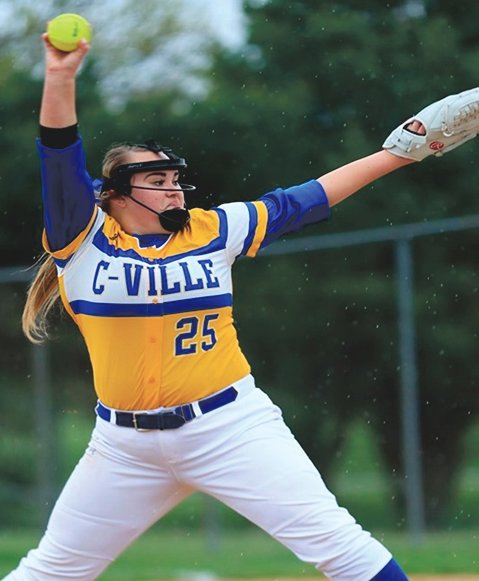 Crawfordsville's Katelyn Perry is a senior softball pitcher. Her parents are Spring & Scott Perry. She is headed to Ball State to pursue a major in Radiography. Good luck Katelyn!