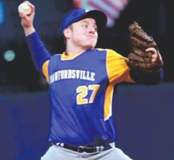 Crawfordsville pitcher/1B Gabe Joyner is the grandson of Charlotte and Lance Winings. He plans to attend Indiana State University in the fall, but is undecided on his area of study.