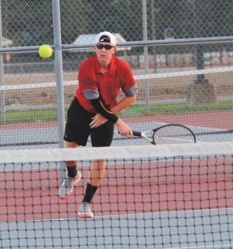 Southmont's Trevor McKinney will continue his tennis career at Wabash College this fall.