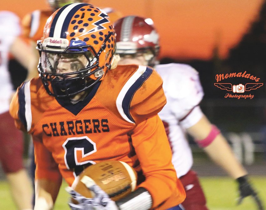 North Montgomery's Zach Waldon will continue his football career at Wabash College.
