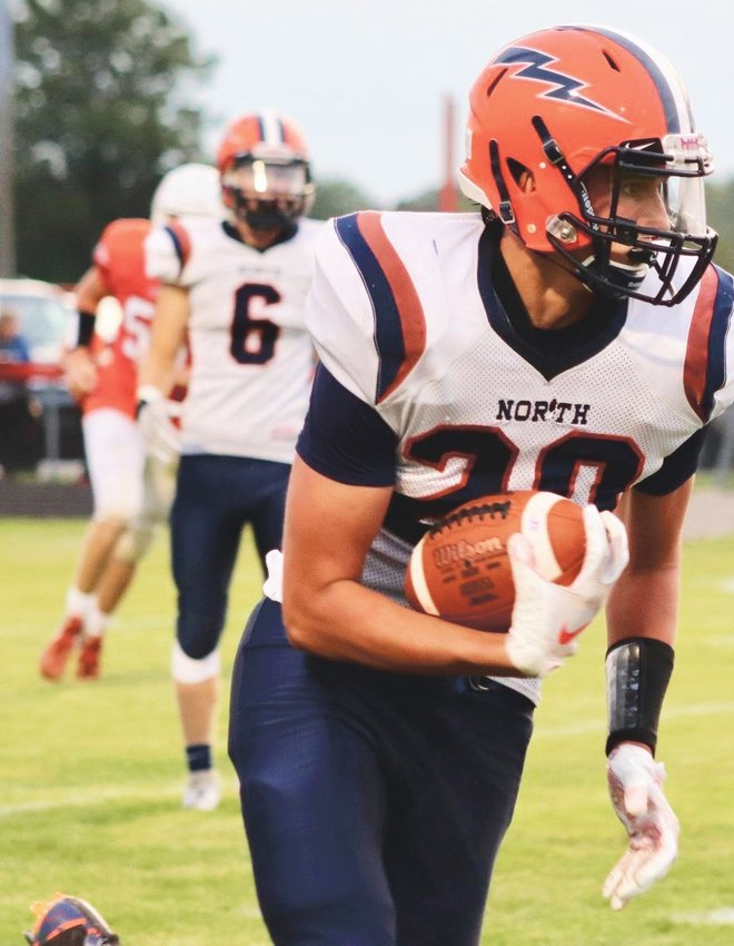North Montgomery's Keifer Carmean will continue his football career at Wabash College.