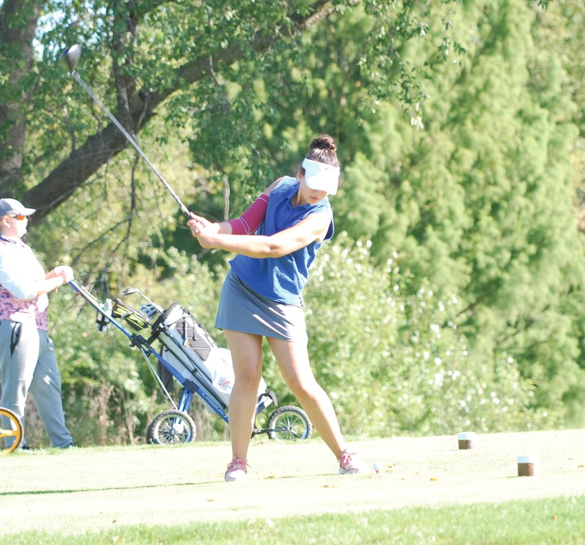 Crawfordsville's Bailey Mittal led the Athenians to a third-place finish at the IHSAA Sectional on Saturday. The senior fired a 94, which was the fifth best score of the tournament.