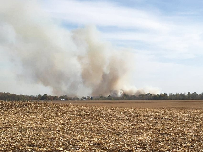 Two field fires shut down major thoroughfares Wednesday afternoon. Crews from multiple fire departments fought the blazes on U.S. 231 near C.R. 400N and East State Road 32 near C.R. 625E. Wind gusts near 40 mph, together with low humidity, had elevated the fire risk. People were urged not to burn leaves and other debris.