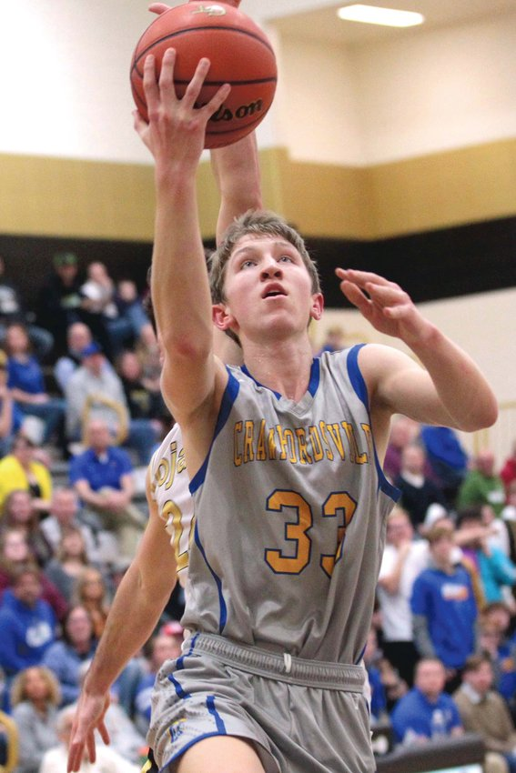 Crawfordsville's Ian Hensley returns over 8 points per game of scoring for the Athenians.