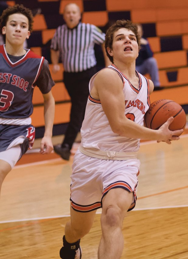 North Montgomery's Logan Kelly made 24 3-Pointers as a junior last season.