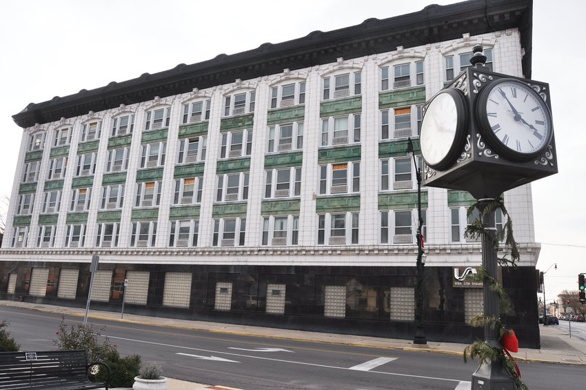 The Ben Hur Building, seen here Tuesday, is set to be renovated into a hotel and apartments.