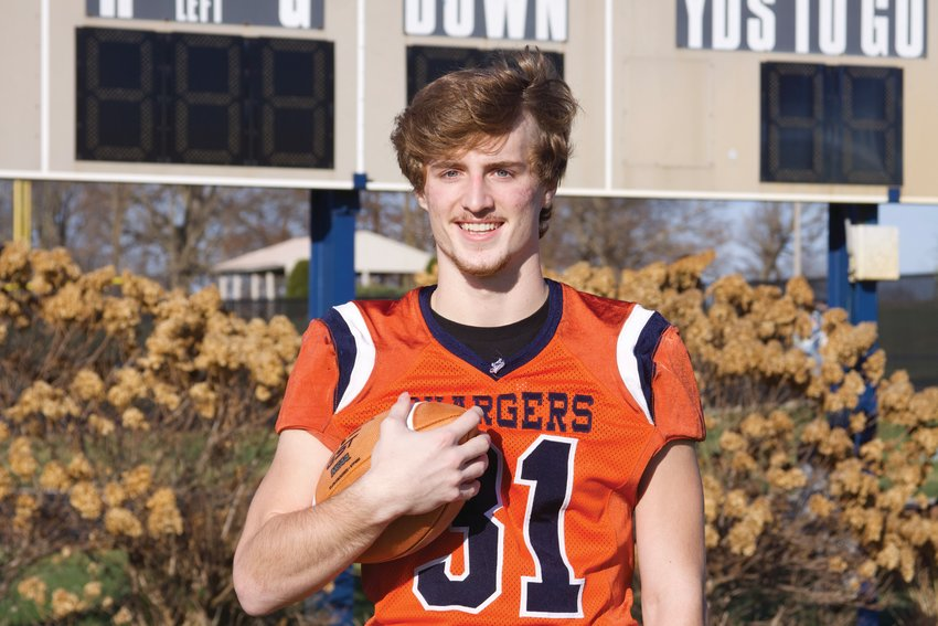 North Montgomery's Zak Searle averaged over 100 yards per game rushing. The senior is the 2020 Journal Review Football Player of the Year.