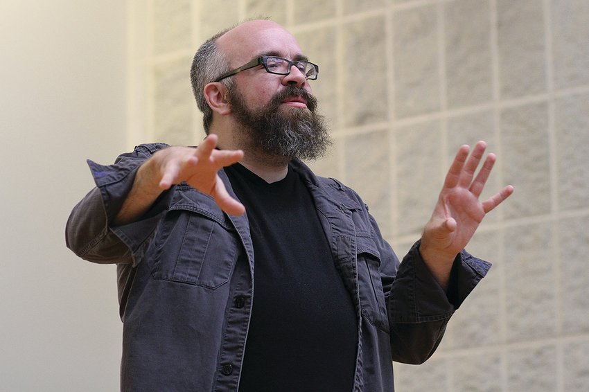 Matt Weedman joined the College's art department in 2015, teaching photography, video, sculpture, and performance.