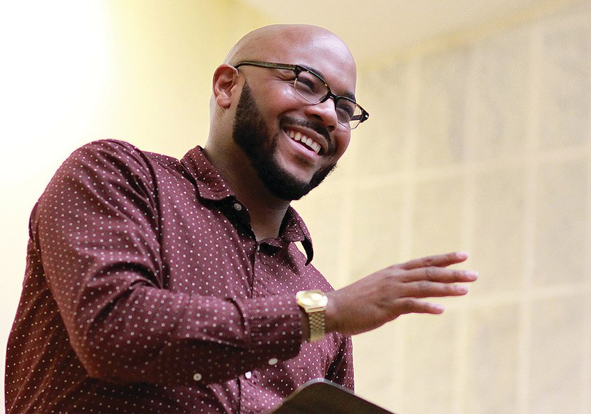 Nate Marshall will give a virtual talk at 7:30 p.m. Monday. His talk will highlight a day commemorating the life and leadership of the Rev. Martin Luther King Jr. Pre-registration is required.