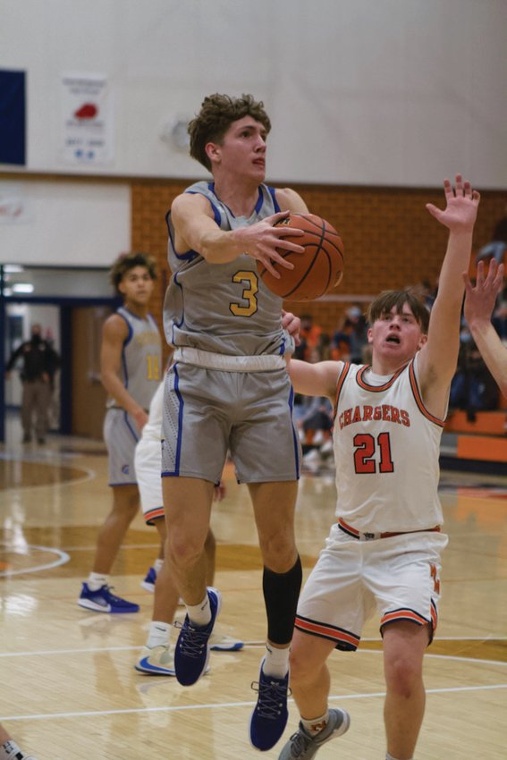 Crawfordsville's Ty Lynas is averaging over 17 points per game in his senior season.
