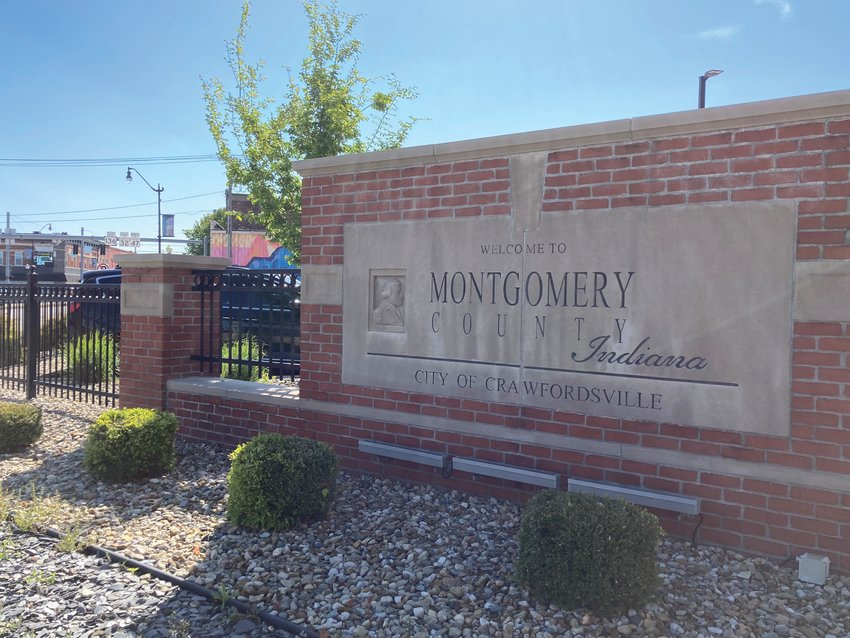 Gateway signs similar to the one outside the Montgomery County Courthouse are part of a wayfinding project that received a financial commitment from the Montgomery County Council Tuesday.