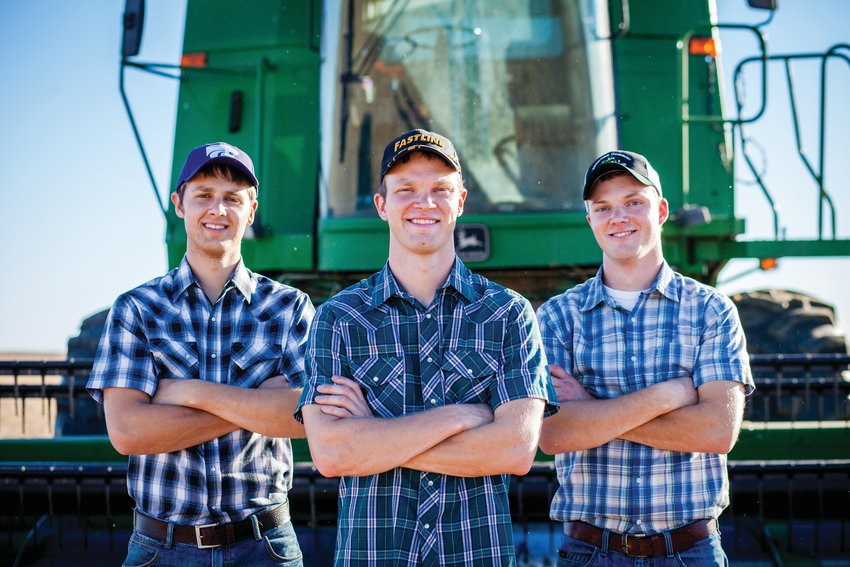 The Peterson Farm Brothers, from left, Kendal, Greg and Nathan, will perform Friday at Waveland Town Park.